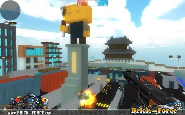 Brick-Force - motyw graficzny /Informacja prasowa