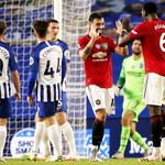 Brighton - Manchester United 0-3 w meczu 32. kolejki Premier League