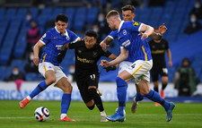 Brighton - West Ham United w 36. kolejce Premier League. Cały mecz Jakuba Modera i Łukasza Fabiańskiego