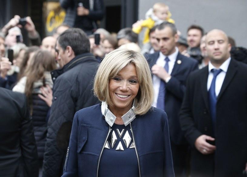 Brigitte chwalono za wybór stylowego i eleganckiego stroju! /East News