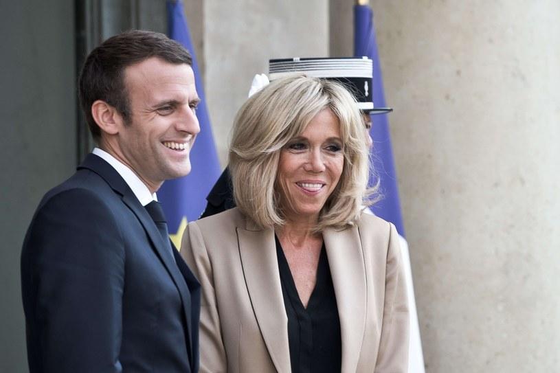 Brigitte i Emmanuel Macron są małżeństwem od 2007 roku /East News