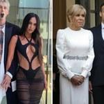 Brigitte i Emmanuel Macron szokują różnicą wieku. Ale to wcale nie pierwsza dama Francji jest rekordzistką!