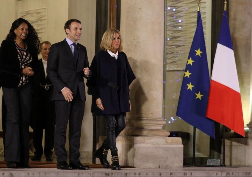 Brigitte i Emmanuel Macron /East News