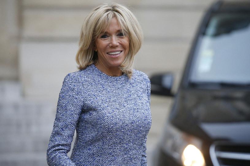 Brigitte Macron ma dorosłe dzieci z pierwszego małżeństwa. Dwie córki i syna /Getty Images