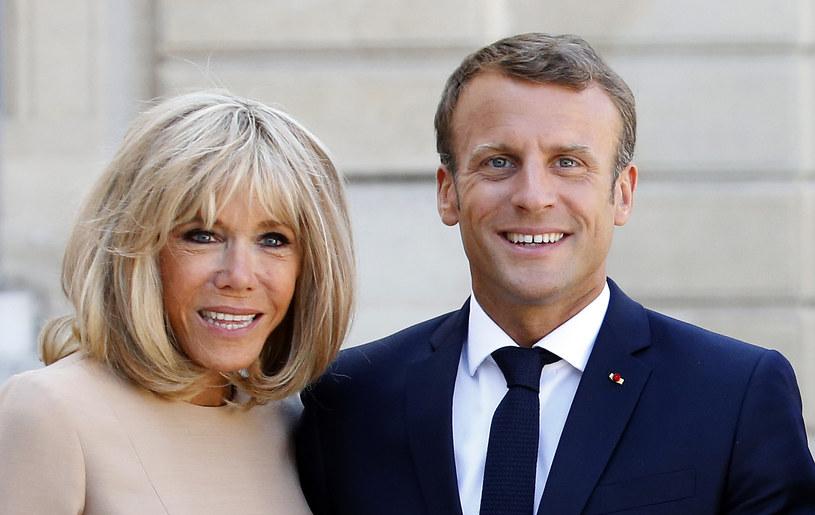 Brigitte Macron postawiła na modny bob /Chesnot /Getty Images