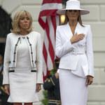 """Brigitte Macron szczerze o Melanii Trump: """"Jest więźniem Białego Domu"""""""