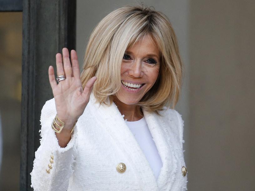 Brigitte Macron uwielbia słodycze z rodzinnej cukierni /Getty Images