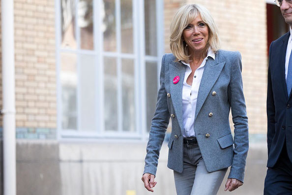 Brigitte Macron /Getty Images