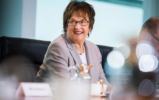 Brigitte Zypries, minister gospodarki i energii Niemiec /AFP