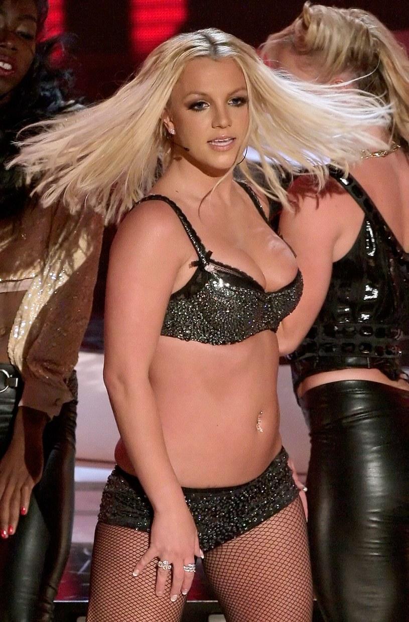 Britney była kiedyś nieco grubsza... /Getty Images