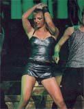 Britney podczas koncertu /