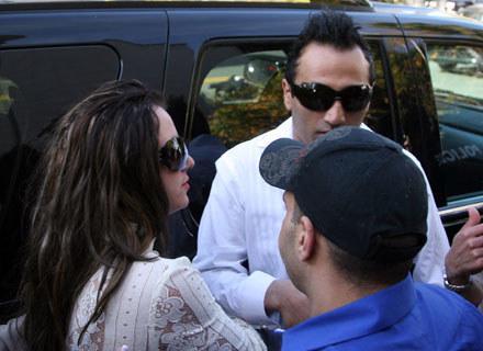 Britney Spears i Adnan Ghalib /arch. AFP