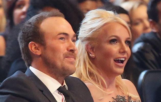 Britney Spears i David Lucado /Christopher Polk /Getty Images