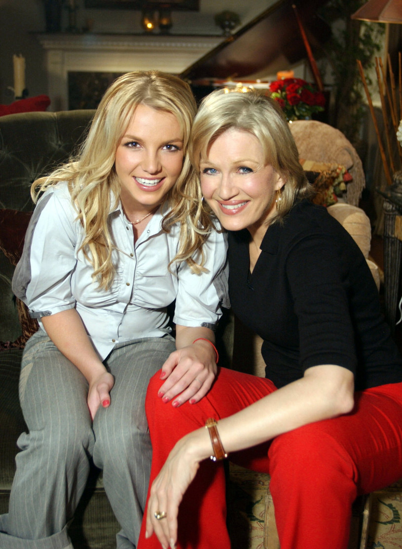 Britney Spears i Diane Sawyer /Everett Collection /East News