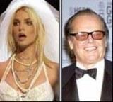 Britney Spears i Jack Nicholson /Archiwum
