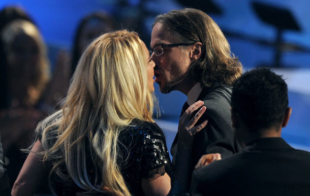 Britney Spears i Jason Trawick /Kevin Winter /Getty Images