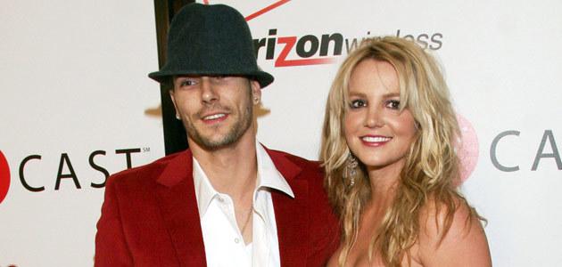 Britney Spears i Kevin Federline  /AFP
