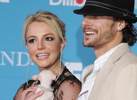 Britney Spears i Kevin Federline byli szczęśliwą parą - fot. Frazer Harrison /Getty Images/Flash Press Media