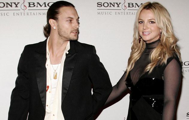 Britney Spears i Kevin Federline /Vince Bucci /Getty Images