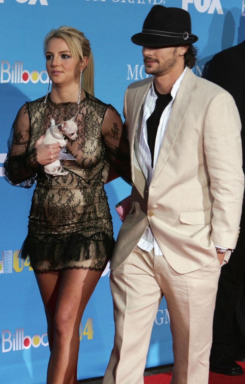 Britney Spears i Kevin Federline /Frazer Harrison /Getty Images