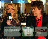 Britney Spears i Mick Jagger /