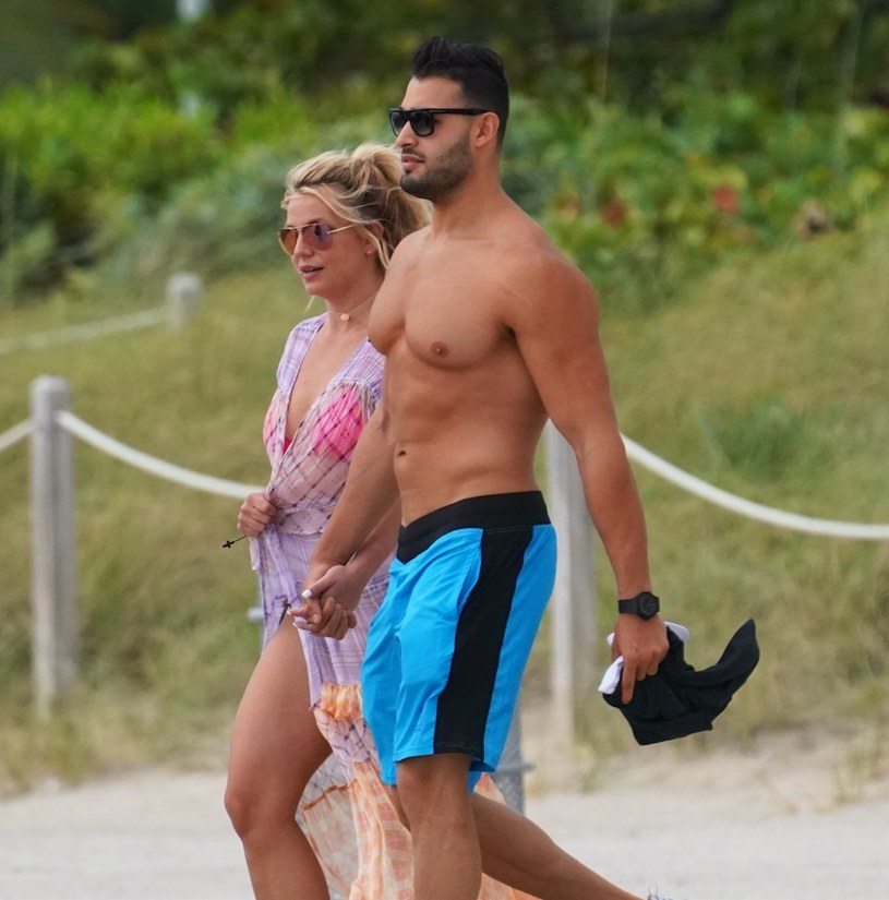 Britney Spears i Sam Asghari /East News