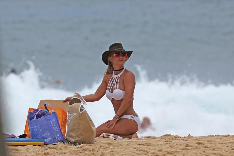 Britney Spears lubi mocno opalone ciała /East News