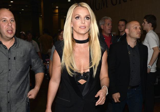 Britney Spears na festiwalu w Las Vegas fot. Isaac Brekken /Getty Images/Flash Press Media