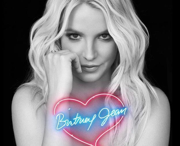 """Britney Spears na okładce albumu """"Britney Jean"""" /"""