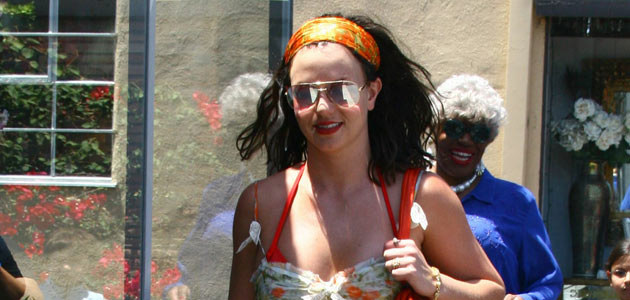 Britney Spears na zakupach w Beverly Hills (29 lipca)  /Splashnews
