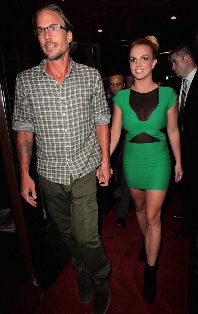 Britney Spears z Jasonem Trawickiem /Danny Martindale /Getty Images