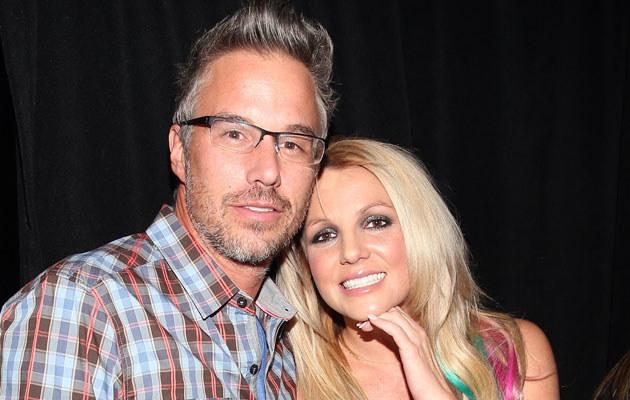 Britney Spears z narzeczonym Jasonem Trawickiem /Kevin Winter /Getty Images