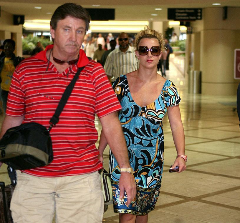 Britney Spears z ojcem - dziś oboje walczą ze sobą w sądzie /VT/HJW/SJ/Splash NewsEAST NEWS /East News