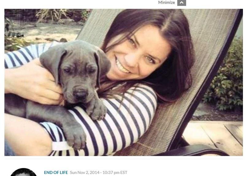 Brittany Maynard skorzystała z możliwości wspomaganego samobójstwa, fot. https://www.lifesitenews.com /