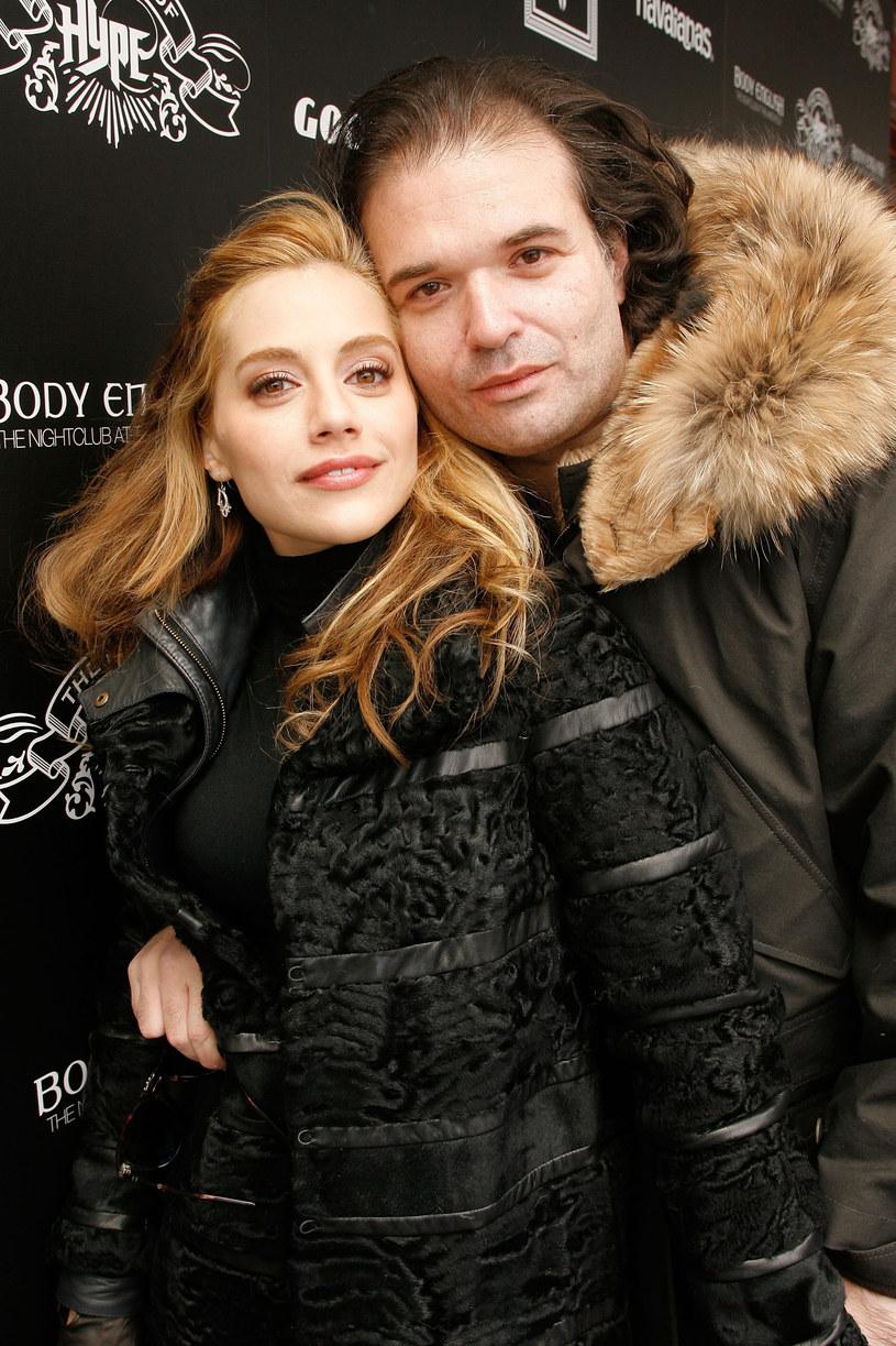 Brittany Murphy z mężem /Riccardo Savi / Stringer /Getty Images