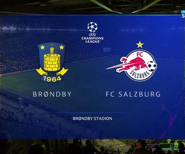 Broendby - Salzburg 1:2. Skrót meczu (POLSAT SPORT) Wideo