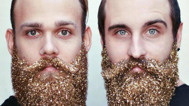 Brokatowe brody to nowe internetowe szaleństwo /@thegaybeards Instagram /materiały prasowe
