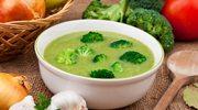 Brokułowo-groszkowa zupa