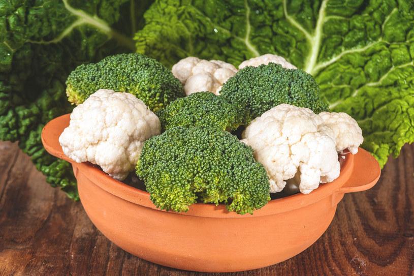 Brokuły i kalafior mają zbawienny wpływ na funkcjonowanie całego organizmu, nie tylko mózgu! /123RF/PICSEL