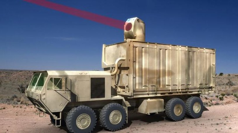 Broń laserowa Armi Stanów Zjednoczonych /US Army /INTERIA.PL/materiały prasowe
