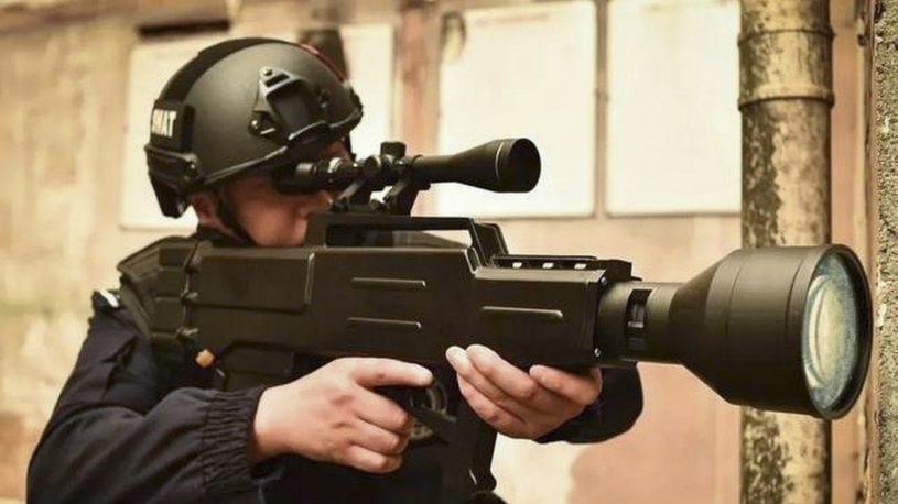 Broń laserowa firmy Chengdu Hengan opracowana z myślą o policji /materiały prasowe