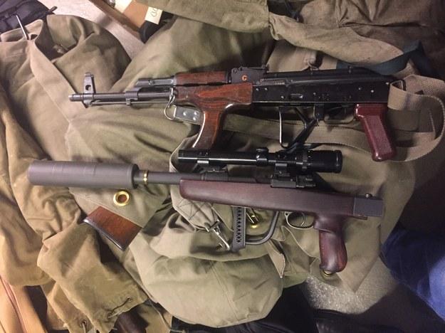 Broń przechwycono dzięki informacjom przekazanym przez służby celne /foto. toll.no /