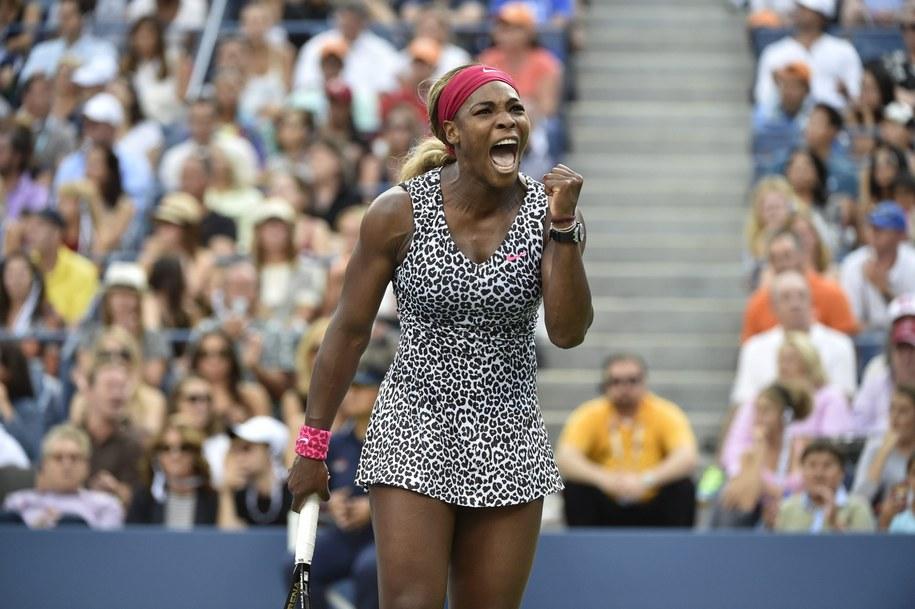 Broniąca tytułu Amerykanka wygrała US Open po raz szósty /JUSTIN LANE /PAP/EPA