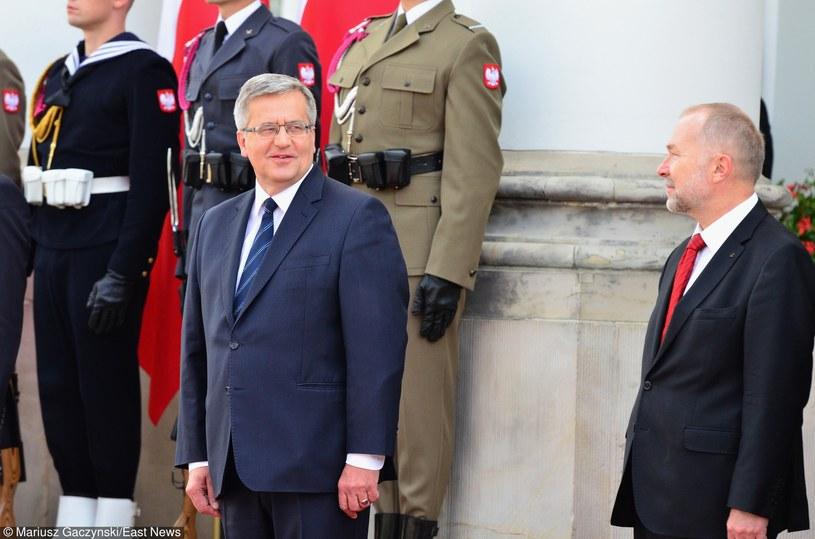 Broniaław Komorowski i Jacek Michałowski /Mariusz Gaczyński /East News