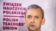 Broniarz: W Biedronce zarobki wynoszą 4,7 tys. zł brutto, a pensja nauczyciela stażysty to 2,2 tys.