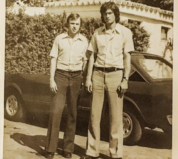 Bronisław Bula i Marian Ostafiński w Maroku /Marian Ostafiński /archiwum prywatne