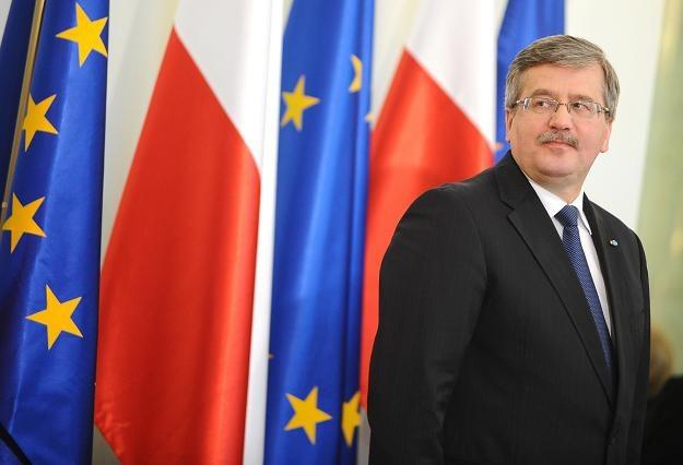 Bronisław Komorowski/fot. J. Turczyk /PAP