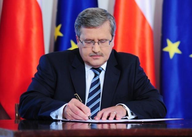 Bronisław Komorowski / fot. P. Gamdzyk /Reporter