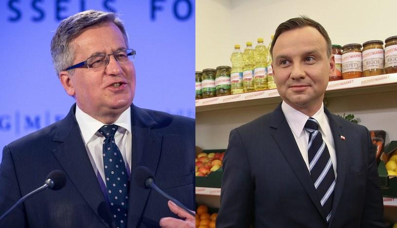 Bronisław Komorowski (fot. PAP/EPA) i Andrzej Duda (fot. Rafał Guz/PAP): Zbieranie podpisów to test wyłącznie sprawnościowy? /