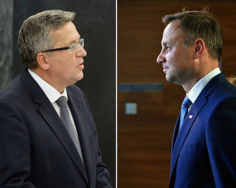 Bronisław Komorowski i Andrzej Duda /AFP